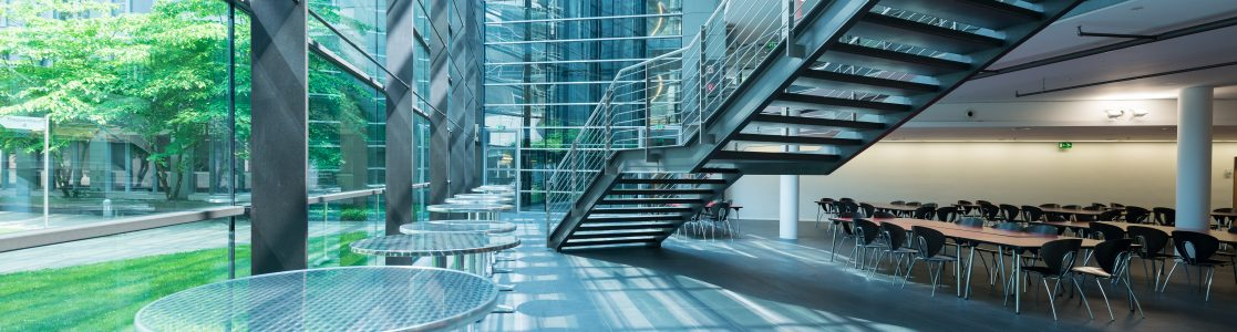 MediaPark 6 Foyer im Untergeschoss